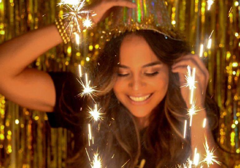 Así celebra Mariela Encarnación su cumpleaños 42