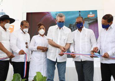 Abinader entrega obras de riego por unos RD$130 millones en Dajabón e inaugura nueva carretera