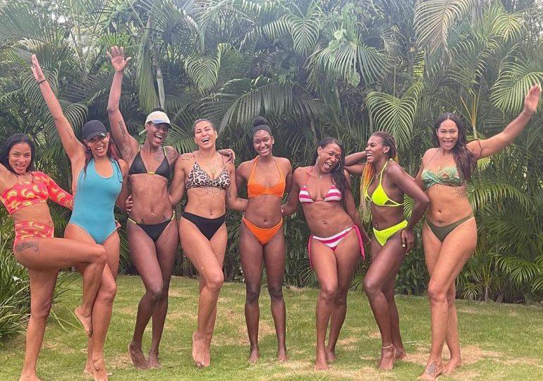 """FOTOS   Reinas del Caribe ahora """"modelos"""" de trajes de baño"""