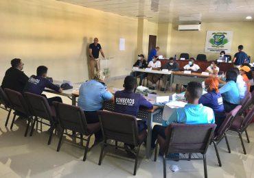 """Ayuntamiento de Verón Punta Cana, USAID/BHA y el COE preparan personal de repuesta en """"Sistema de Comando de Incidente"""""""