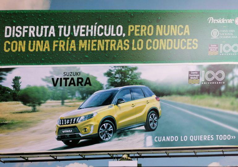 Cervecería Nacional Dominicana y Santo Domingo Motors aliados para proteger vida de conductores