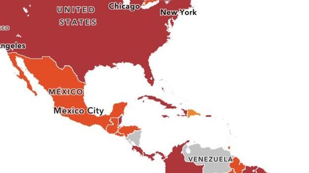 EE.UU coloca a República Dominicana en categoría dos a nivel de Covid-19