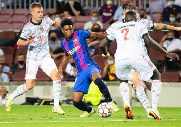 Álex Balde jugador de origen dominicano debuta en el equipo grande del Barcelona