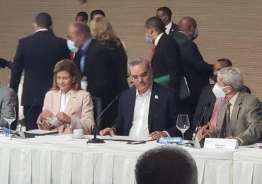 Video | Presidente Luis Abinader encabeza segundo encuentro del diálogo nacional