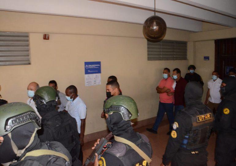 Operación Falcón| Tribunal aplaza para el lunes conocimiento medida de coerción a los 23 implicados