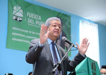Leonel asegura en Fuerza del Pueblo jamás va a penetrar dinero del narcotráfico