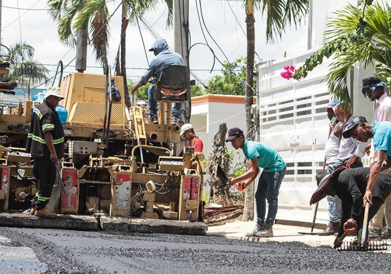 Obras Públicas inicia Plan de Asfaltado en Samaná y María Trinidad Sánchez