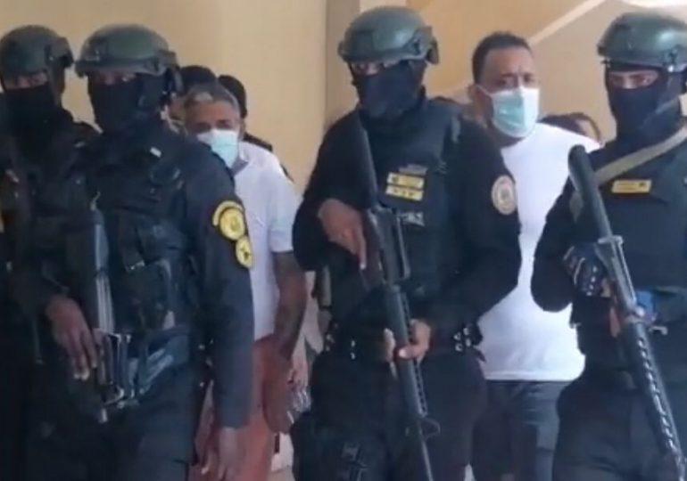 VIDEO   Trasladan a sala de audiencias a 23 imputados en Operación Falcón