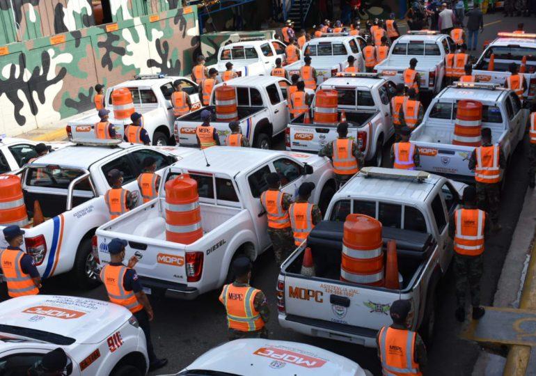 Unidades patrulleras reforzarán en las carreteras por feriado de Las Mercedes