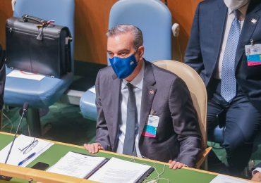 Presidente Luis Abinader habla hoy ante la Asamblea General de la ONU