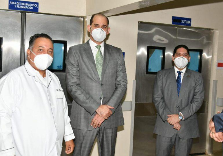 PROMESE/CAL incluye a San Cristóbal en programa de tratamiento de infarto al corazón