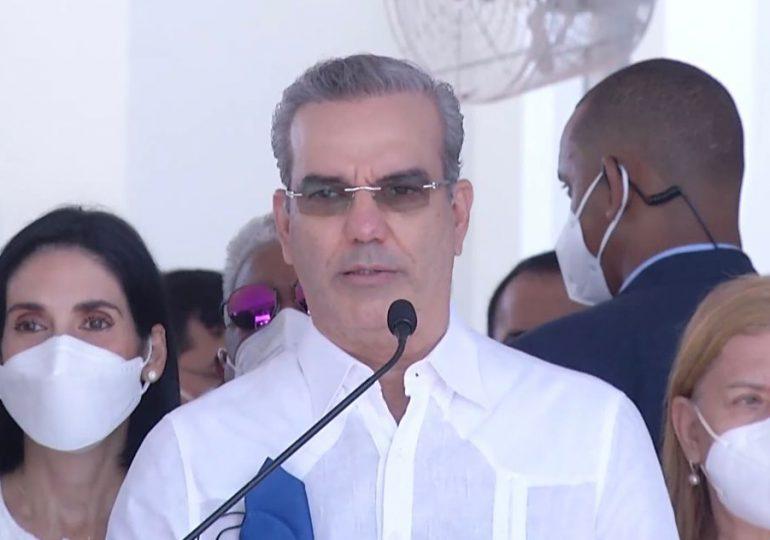 Abinader dice acciones continuarán para limpiar a RD del crimen