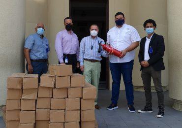 Fundación Refidomsa dona  extintores a la Dirección General de Bellas Artes