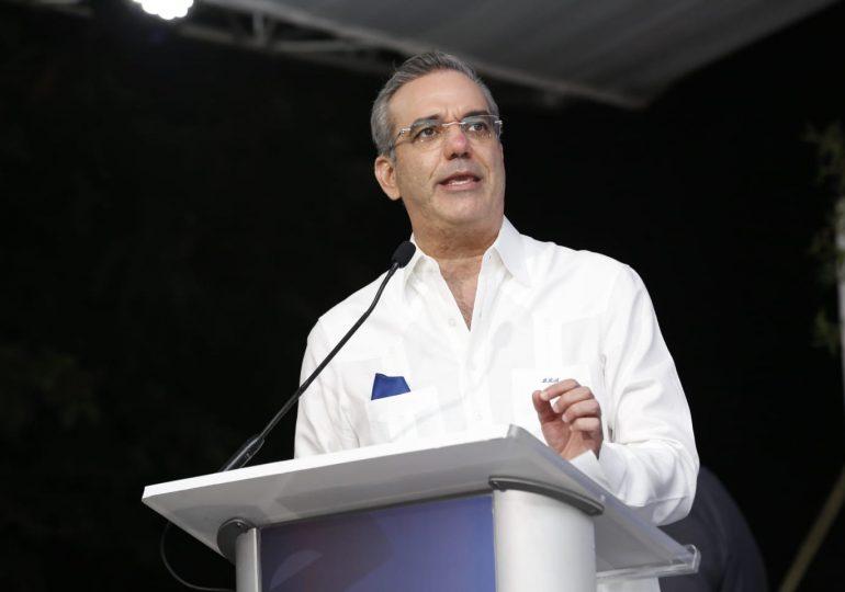 Abinader lanza proyecto Santiago 2025 con  inversión de RD$42 MM
