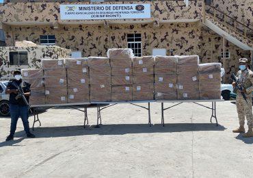 CESFRONT decomisa 460,000 unidades de cigarrillos en Dajabón