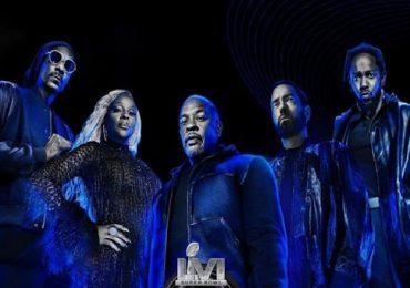 Dr. Dre, Snoop Dogg y Eminem actuarán en Super Bowl