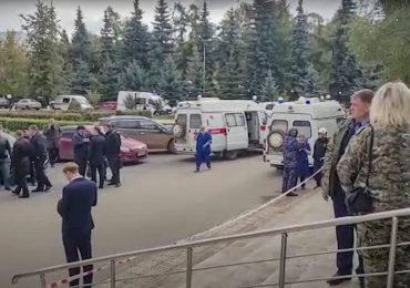 Un estudiante mata a seis personas en un tiroteo en una universidad rusa