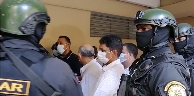VIDEO | Conocen medida de coerción a 24 imputados en Operación Falcón; MP pide 18 meses de prisión preventiva