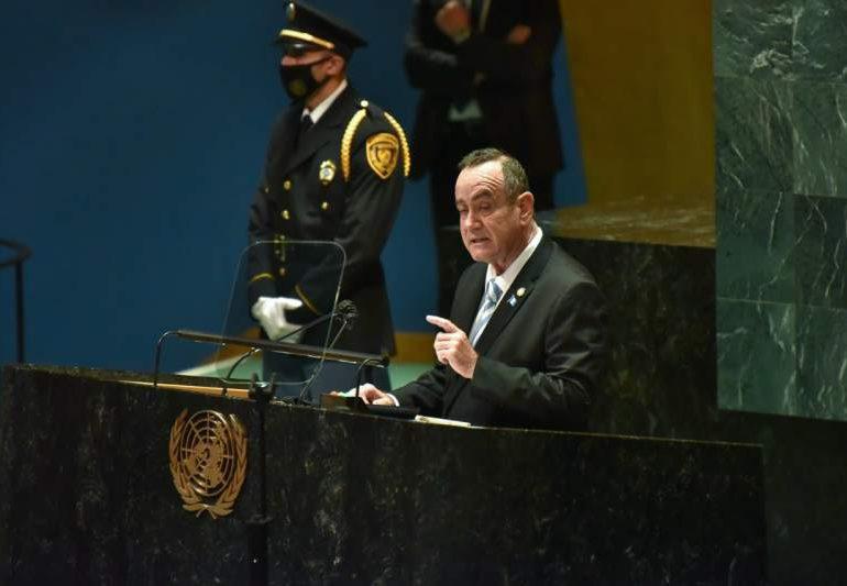 Guatemala responsabiliza a EEUU por demanda mundial de drogas
