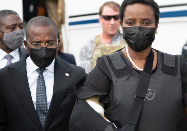 Exprimera dama de Haití pide aplazar audiencia asesinato de su esposo