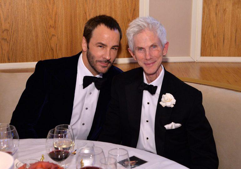 El diseñador Tom Ford pierde a su esposo, el escritor y periodista Richard Buckley