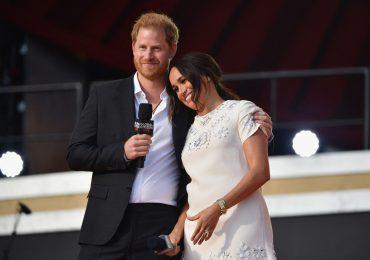 El príncipe Harry y Meghan Markle ovacionados en el Global Citizen Live
