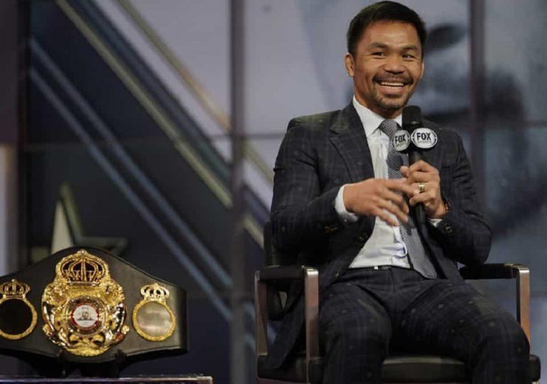 El boxeador Manny Pacquiao se declara candidato a presidencial de Filipinas