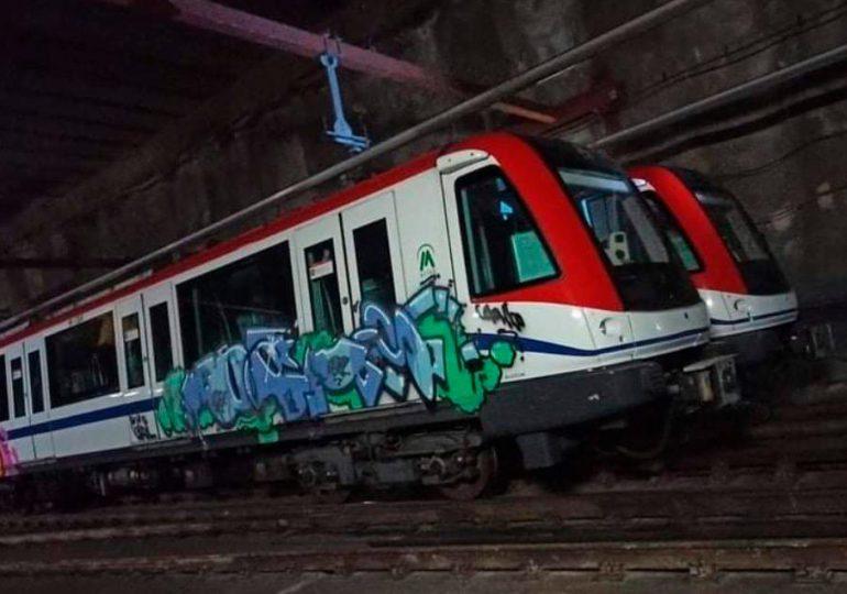 ¿Qué ha pasado con los autores de vandalizar el Metro de Santo Domingo?