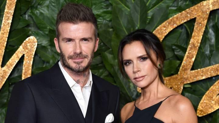 Victoria Beckham incendia Instagram con una foto de su marido David mostrando el trasero