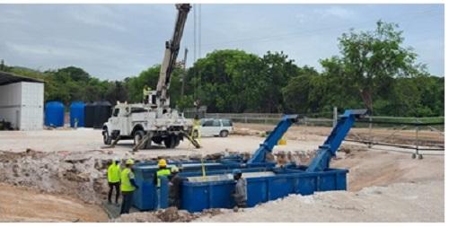 Minera Belfond asfaltará el Minera Belfond  en Barahona