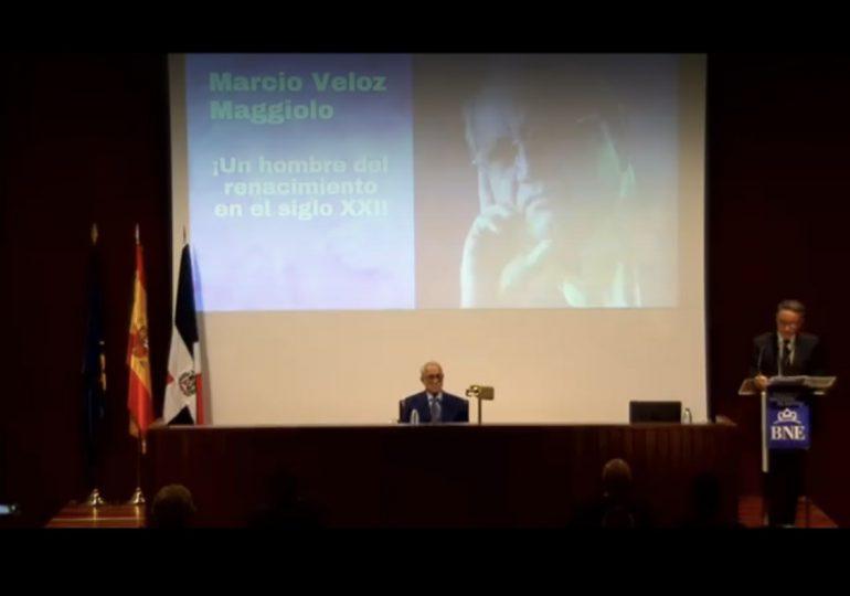 """Embajador ante la UNESCO dice: """"Marcio Veloz Maggiolo, un hombre del renacimiento en el siglo XXI"""""""