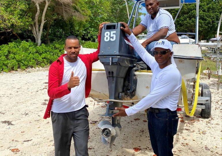 Fundación Grupo Puntacana enfrenta sargazos a través de la creación de empleos para pescadores locales