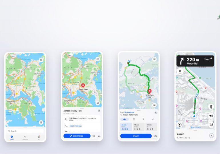 HUAWEI lanza herramienta de ubicación Petal Maps