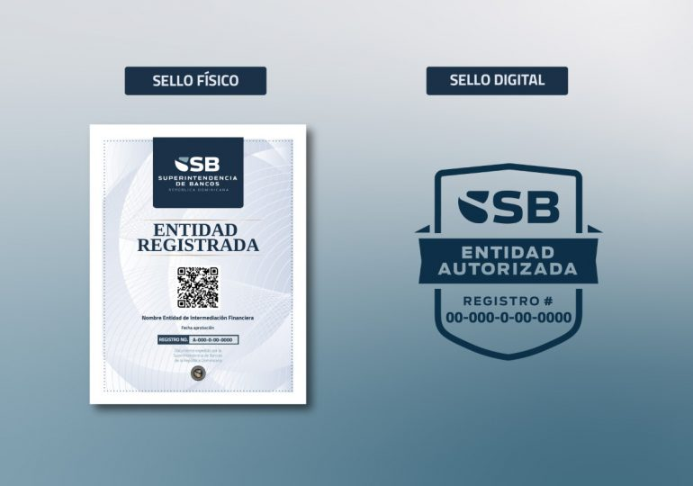 Superintendencia de Bancos lanza sello de identificación para entidades autorizadas