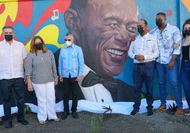PROPEEP y ASDE develan mural en honor a Johnny Ventura en SDE