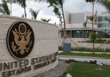 Embajada de EEUU en RD solo reservará citas a migrantes en situaciones de emergencias
