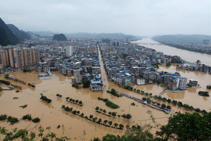 Inundaciones en China dejan un millón de afectados y unos 15 muertos