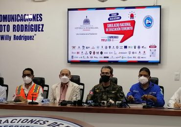 VIDEO | COE preparado para simulacro de terremoto el próximo miércoles 20 en Santiago