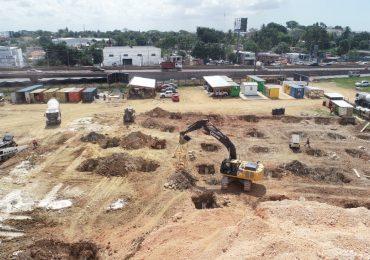 Avanzan trabajos de construcción del teleférico Los Alcarrizos