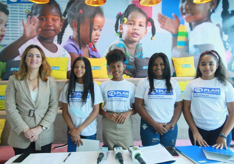 """Niñas dominicanas hablan a través de Plan Internacional para conmemorar el """"Día de la Niña"""""""