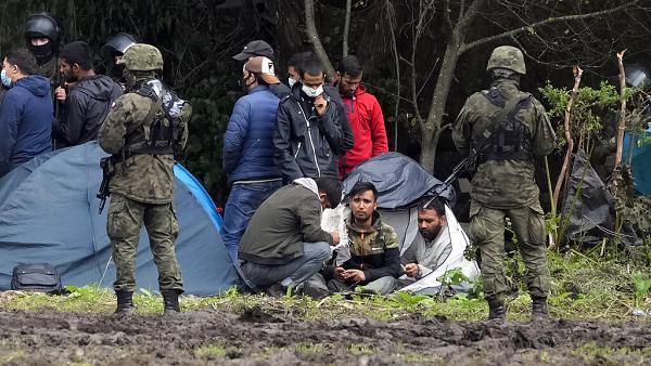 Tensión en la frontera entre Polonia y Bielorrusia por la crisis migratoria