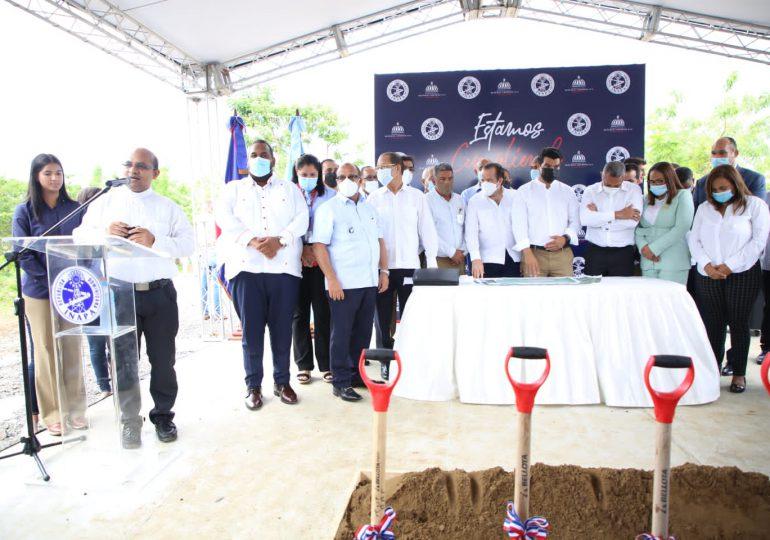 MAPRE e INAPA encabezan primer palazo en rehabilitación de planta de aguas residuales en Castillo