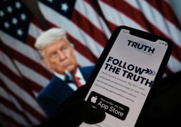 La futura red social de Donald Trump explota en Wall Street