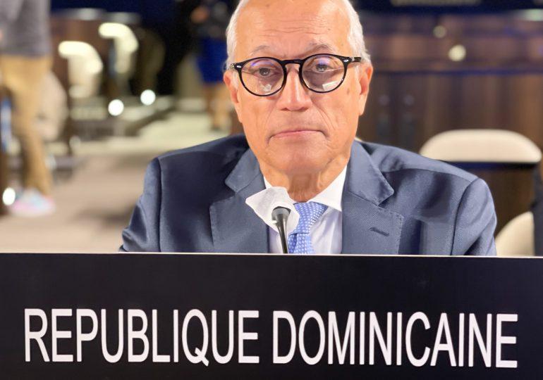 Embajador Andrés L. Mateo destaca rol de la UNESCO para recuperación de educación tras pandemia