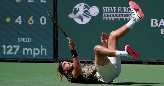 Los favoritos Tsitsipas y Zverev se estrellan en los cuartos de Indian Wells