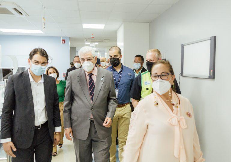 MIVHED entrega nuevas áreas del Hospital José María Cabral y Báez en Santiago