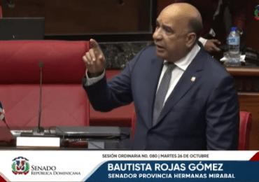 VIDEO Bautista Rojas manda a callar Antonio Taveras en plena sesión del Senado