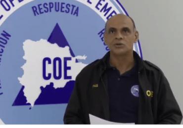 COE mantiene y amplía  alerta verde para 11 provincias por vaguada