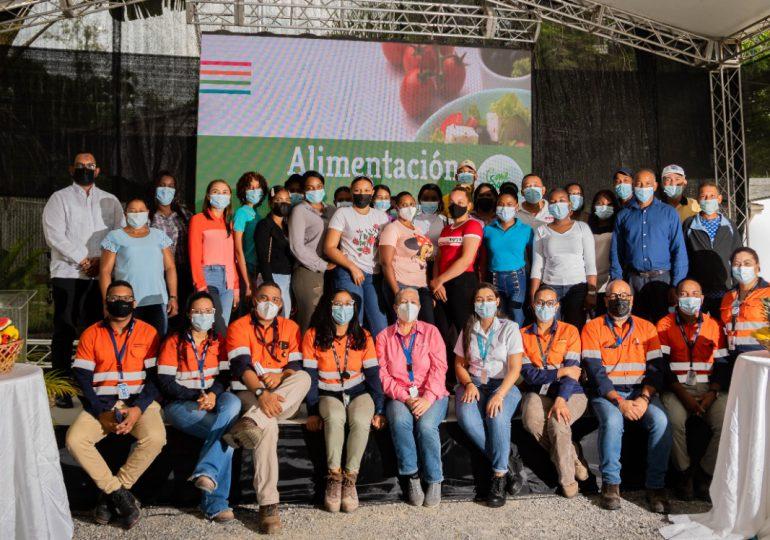 Barrick Pueblo Viejo y Elever conmemoran el Día Mundial de la Alimentación