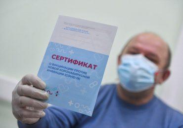 Acusan a personal sanitario ruso de vender certificados  vacunación anticovid-19 falsos